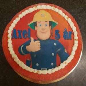 Brandman Sam-tårta