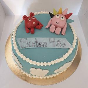 Babblarnatårta med Diddi och Bobbo
