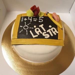Lärare-tårta