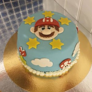 Super Mario-tårta