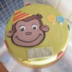Nicke Nyfiken-tårta